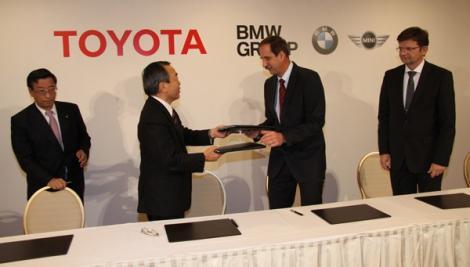 Toyota cu motorare BMW din 2014