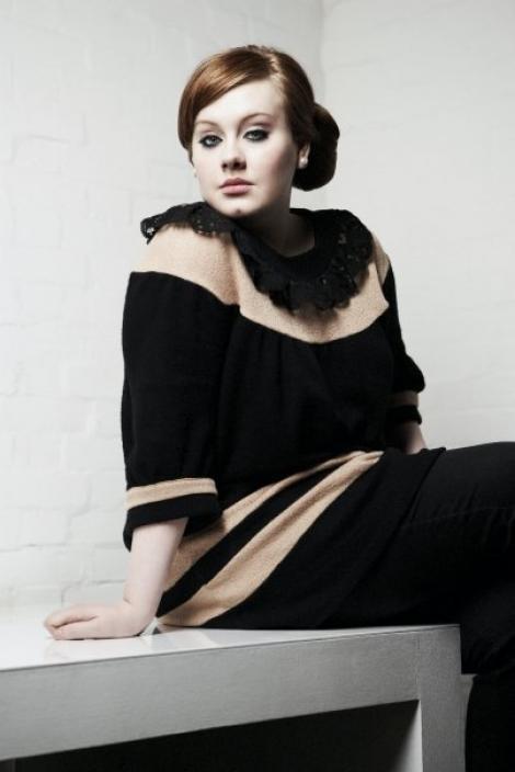 Adele le-a detronat pe Lady Gaga si pe Rihanna