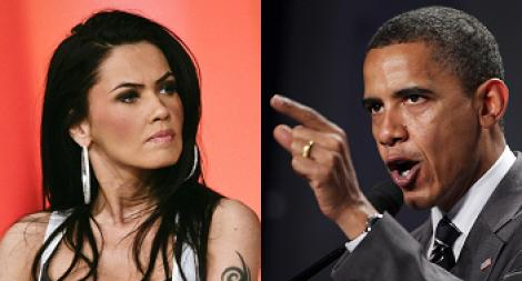 FOTO! Vezi care este asemanarea dintre Oana Zavoranu si Barack Obama!