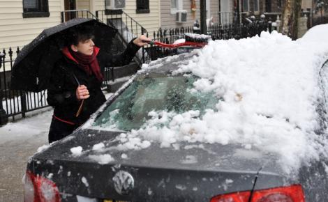 VIDEO! Mos Nicolae aduce ninsori in centrul, vestul si nordul tarii