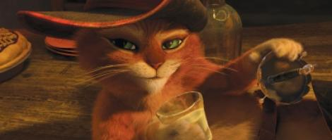 "A1.ro iti recomanda azi filmul ""Puss in Boots - Motanul incaltat 3D"""
