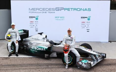 FOTO! MercedesGP si-a prezentat noul monopost