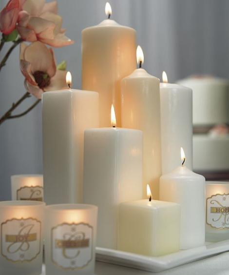 Lumanari decorative pentru momente romantice