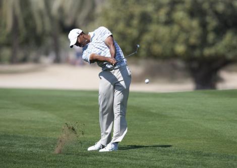 VIDEO! Tiger Woods, amendat dupa ce a scuipat pe terenul de golf!