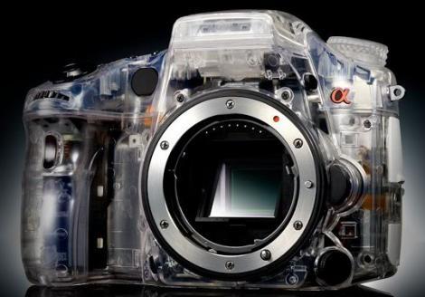 A77, super-camera foto transparenta de la Sony!
