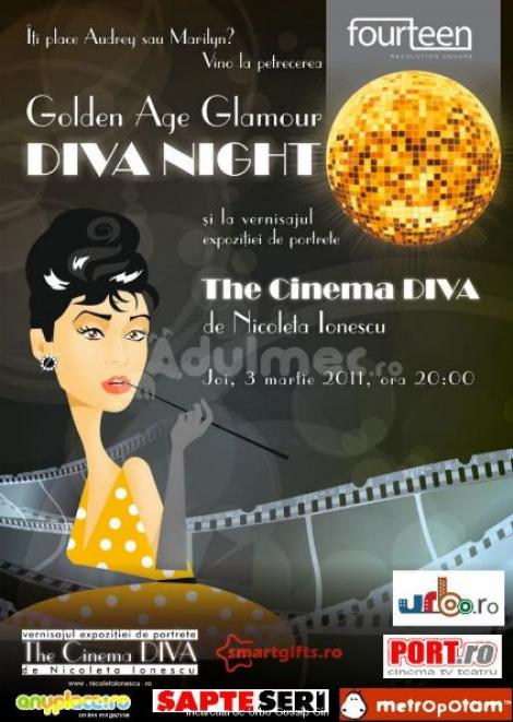 """Party: """"Golden Age Glamour - Diva Night"""""""
