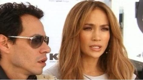 Jennifer Lopez si Marc Anthony, invitati sa vada Superbowlul
