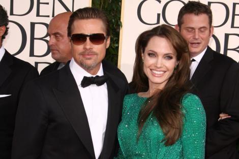 Brad Pitt a plecat in Franta fara Angelina