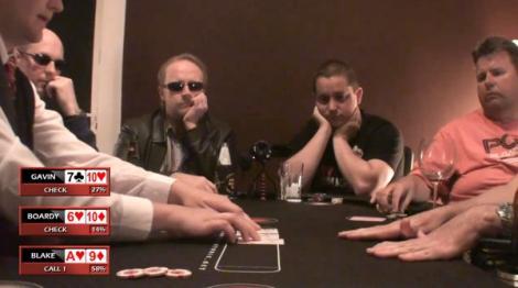 VIDEO! Cum poti juca poker fara sa stai la masa!