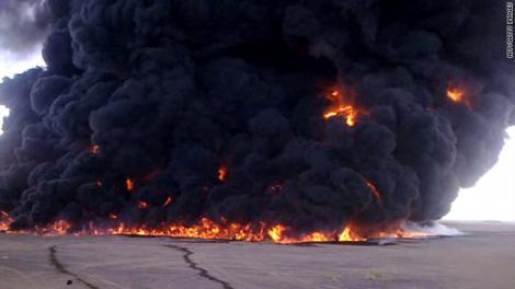 Explozie la o statie de comprimare a gazelor din Sinai! Livrarile catre Israel si Iordania ar fi fost sistate