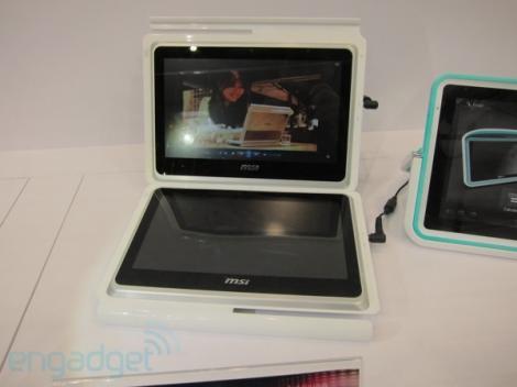 VIDEO! MSI Dual Pad - doua tablete touchscreen intr-una singura!