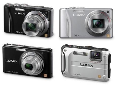 Patru noi aparate foto compacte de la Lumix