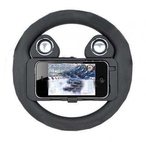 FOTO! Volan pentru iPhone 4!