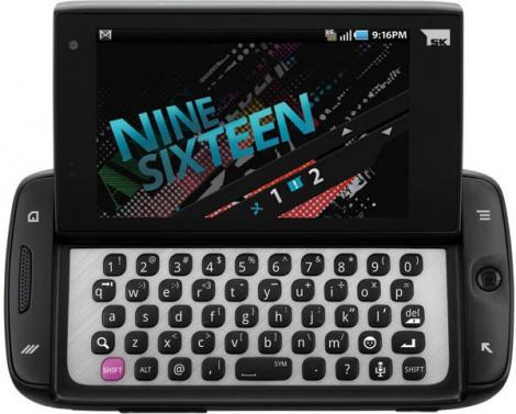 T-Mobile Sidekick 4G, touchscreen si slide!