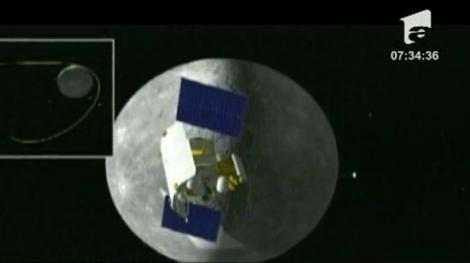 Sonda spatiala pe orbita planetei Mercur
