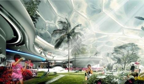 Casele viitorului: energie solara, aer proaspat si natura la superlativ
