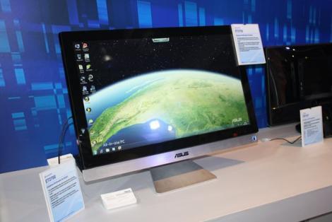 VIDEO! Vezi noul sistem desktop multitouch de la Asus!