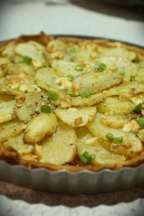 VIDEO! Reteta zilei: Tarta cu cartofi si ciuperci
