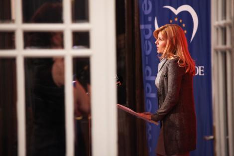 Eurodeputatul Victor Bostinaru o critica pe Elena Udrea: A refuzat sa participe la o sedinta din PE