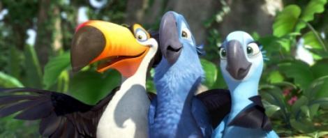 """A1.ro iti recomanda azi filmul """"Rio - 3D"""""""
