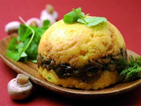 Reteta: cartofi umpluti cu ciuperci