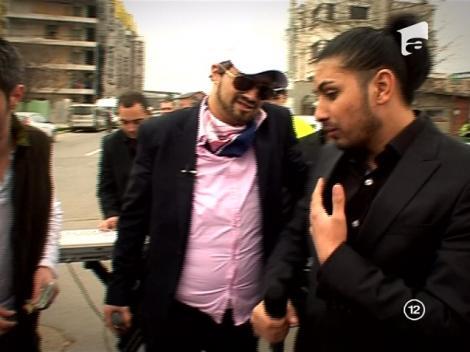 VIDEO! Florin Salam canta pentru reflectii rutiere