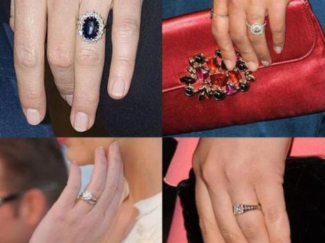 FOTO! Inspira-te din inelele de logodna ale celebritatilor!