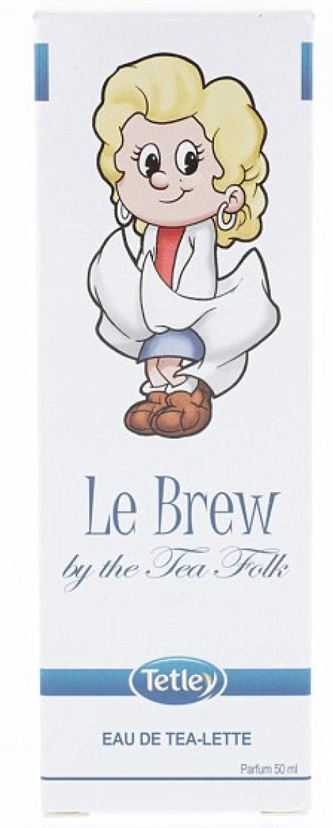 Parfumul cu miros de ceai, marca Tetley