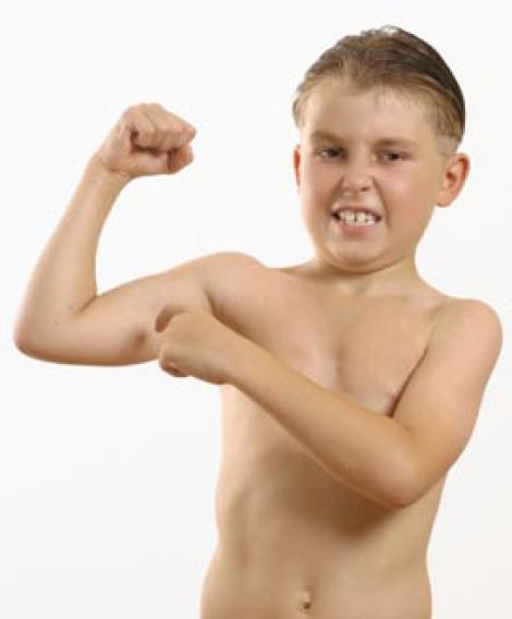 Copiii si cauzele pubertatii la opt ani