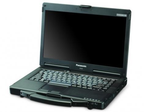 VIDEO! Toughbook CF 53 de la Panasonic - laptop, touchscreen, servieta!