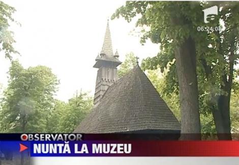 VIDEO! Biserica deschisa la Muzeul Satului