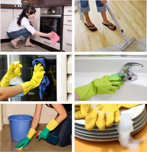 Cum sa fii eficient in curatenia casei