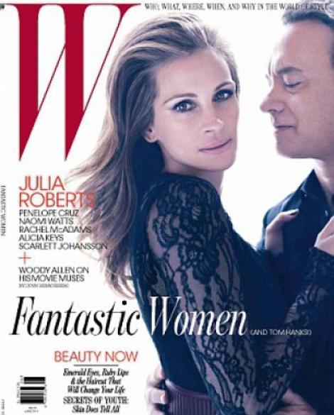 Julia Roberts, eleganta si sexy intr-un pictorial pentru revista W