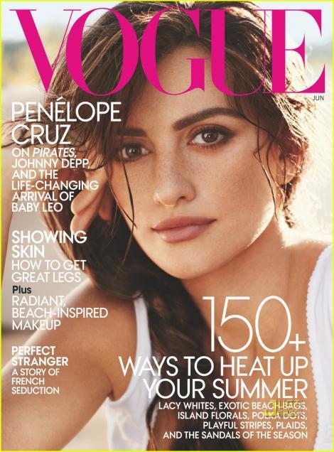 FOTO! Penelope Cruz, seducatoare in Vogue