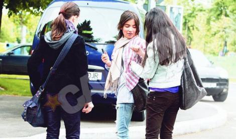 FOTO! Nepoata Oanei Roman se fardeaza de la 11 ani
