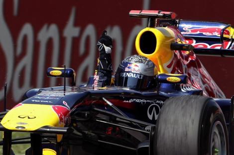 F1, MP al Spaniei: Sebastian Vettel, 4 din 5!