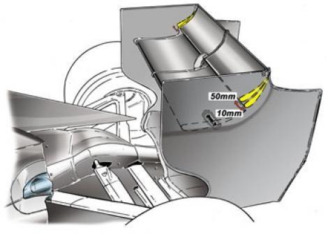 F1: Aripa mobila spate, interzisa in tunelul de la Monte Carlo