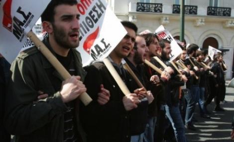 Grecia, paralizata de o greva generala pe 11 Mai!