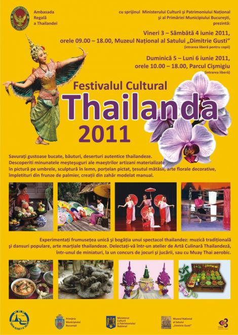 Dans, muzica si arte martiale la Festivalul Cultural Thailanda din Bucuresti