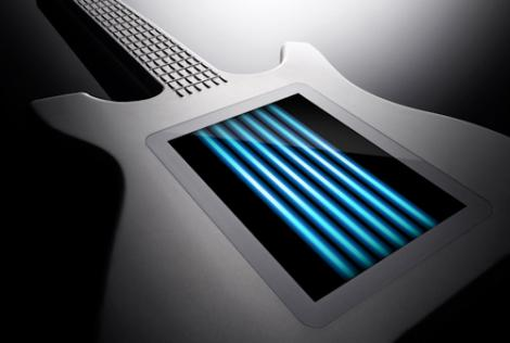 The Kitara - chitara cu touchscreen!