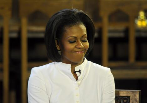 VIDEO! Michelle Obama va aparea intr-un serial TV