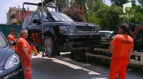 VIDEO! Vezi ce masini de lux au fost confiscate de Garda Financiara!