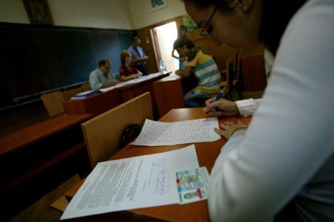 A inceput evaluarea nationala pentru absolventii de gimnaziu