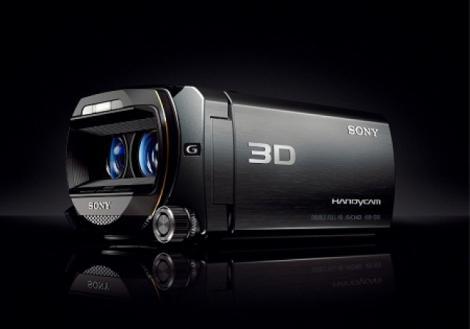 Handycam TD10, prima camera video 3D Sony in Romania