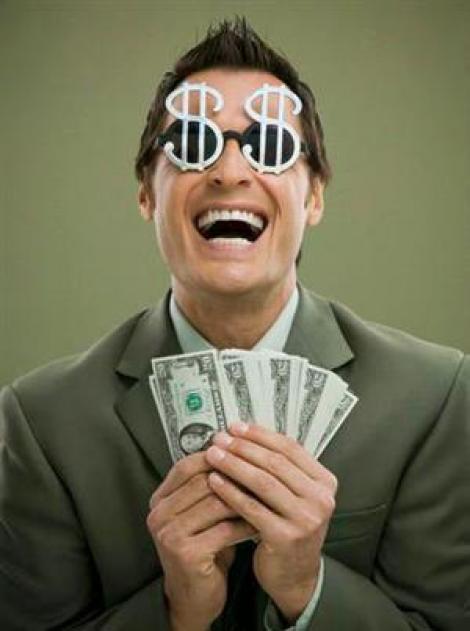 Studiu: banii nu aduc fericirea