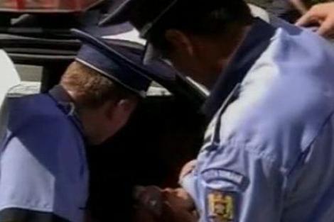 VIDEO! Femeie medic prinsa beata crita la volan in Iasi