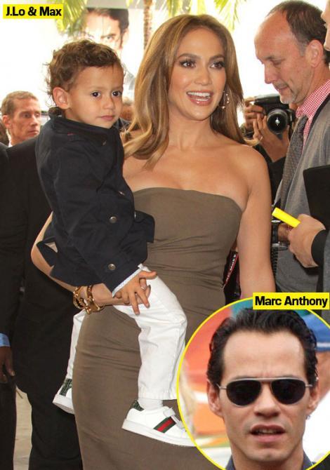 Fiul lui Jennifer Lopez a confundat piscina cu toaleta