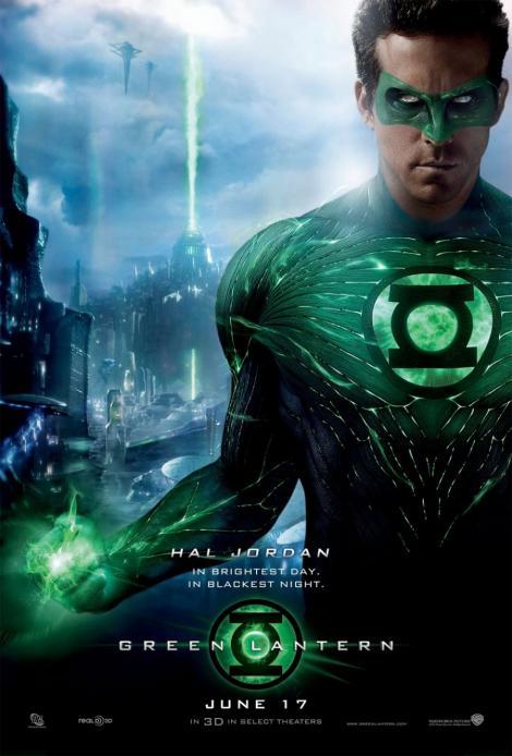 """Green Lantern"" va fi transformat intr-o franciza"
