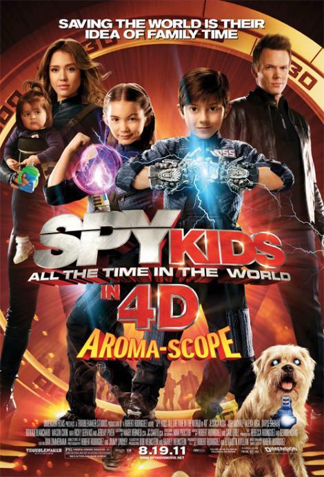 """Spy Kids 4"" va avea premiera mondiala in august 2011"