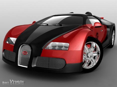 """""""Cerculete"""" nereusite cu Bugatti Veyron"""